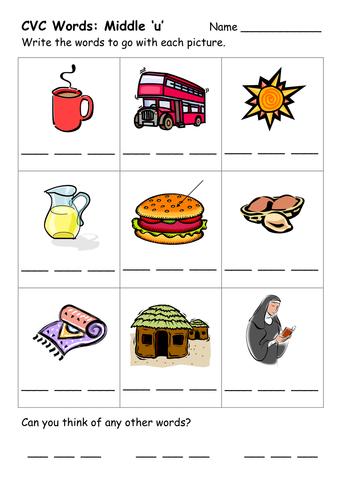Printables Cvc Word Worksheets cvc word worksheets by ehazelden teaching resources tes