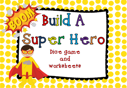 Build a Superhero Game