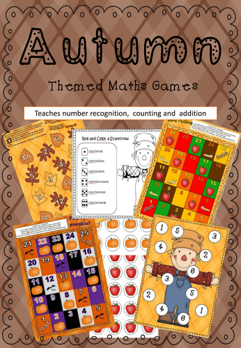 Autumn Maths Games