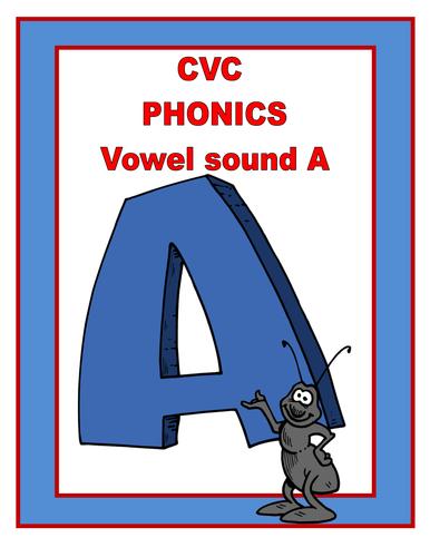 CVC PHONICS   THE  A  SOUND