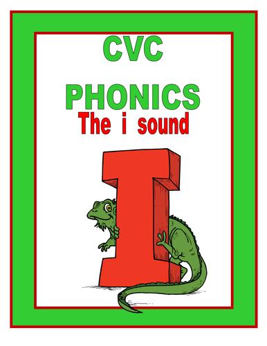 CVC phonics THE I SOUND