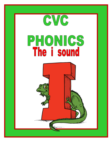 CVC phonics THE I SOUND