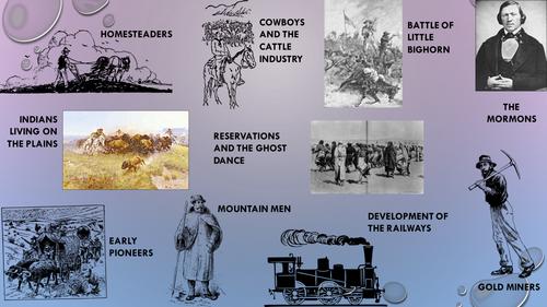 Interactive American West GCSEcourse revision