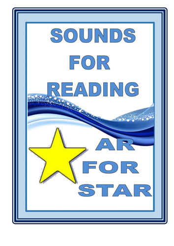 SOUNDS FOR READING  - The AR for STAR sound