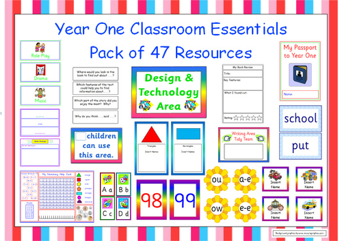 Classroom Layout Ideas Ks1 ~ Year one classroom resources transition materials