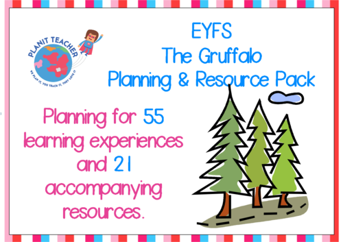 The Gruffalo Planning and Resources - EYFS/Reception