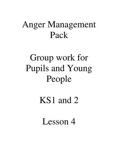 Anger Management 6 Lesson Plans & 6 Notebooks plus resources KS1, KS2, Y7