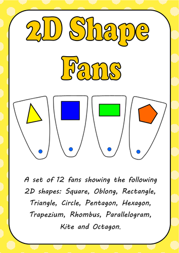 2D Shape Classroom Fans