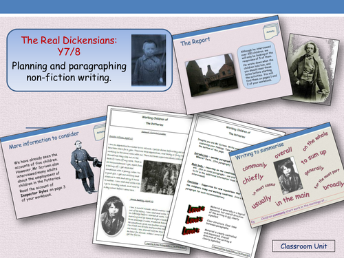 The Real Dickensians- Working Children of the Potteries (Years 7 and 8)