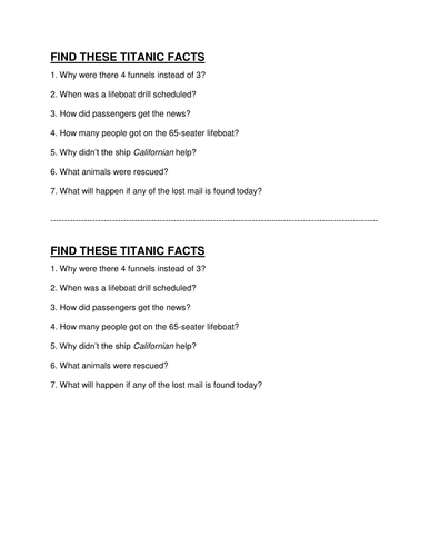titanic descriptive writing complete lesson by engageinenglish  titanic lesson