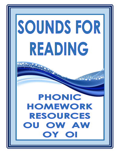 PHONIC HOMEWORK RESOURCES  OU   OW   AW   OY   OI