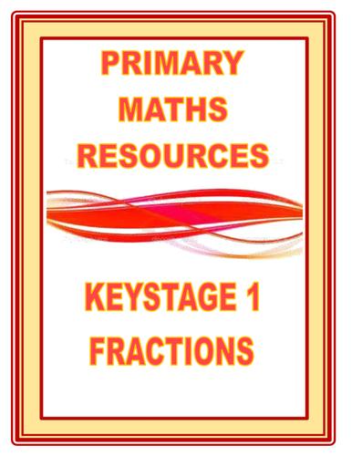 FRACTIONS FOR KEYSTAGE 1