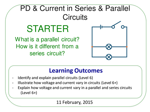 Year 7: Current & Voltage in Circuits (Magnetism & Electricity 7.5)