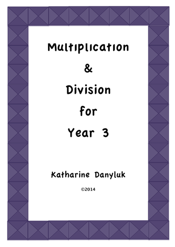 multiplication division resource pack for year 3 by mathsright teaching resources. Black Bedroom Furniture Sets. Home Design Ideas