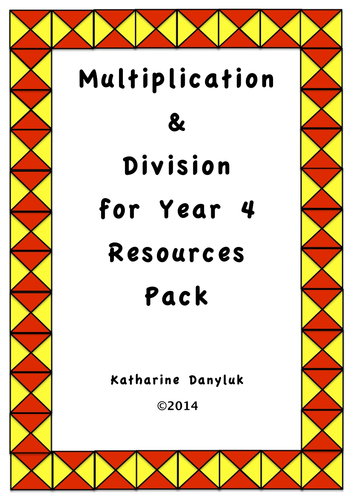 multiplication division and tables resource pack for year 4 by mathsright teaching resources. Black Bedroom Furniture Sets. Home Design Ideas
