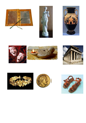 KS2 Ancient Greece Entry Point Lessons (x6) & resources & notebook