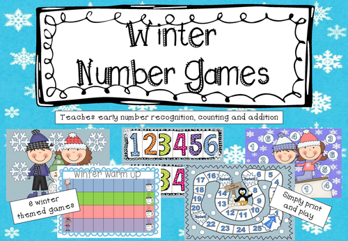 Winter Number Games