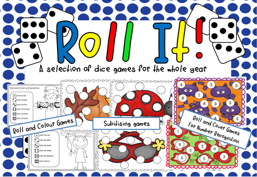 Roll It! A year of dice games