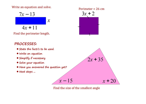 equations in context - Periodic Table Teacher Resources