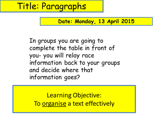 Students write for organisation