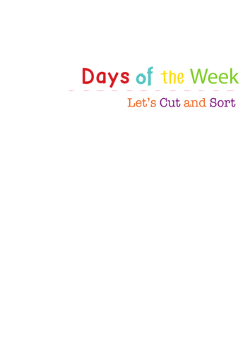 year 1 spelling days of the week worksheets and activities by carolynrouse teaching. Black Bedroom Furniture Sets. Home Design Ideas