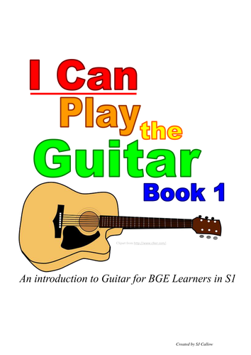 I Can Play Guitar Book 1