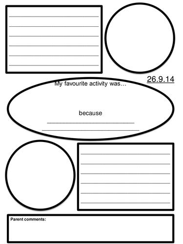 Study log template