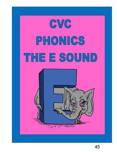 CVC PHONICS THE E SOUND