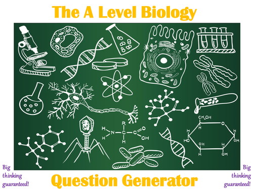 The A Level Biology Question Generator