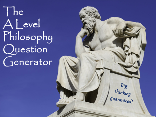 The A Level Philosophy Question Generator