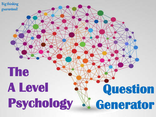 The A Level Psychology Question Generator