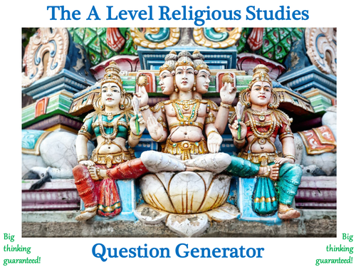 The A Level Religious Studies Question Generator