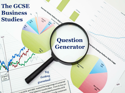 The GCSE Business Studies Question Generator