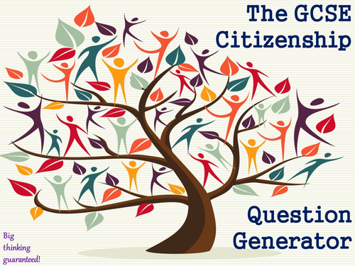 The GCSE Citizenship Question Generator