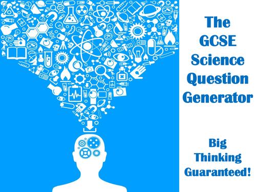 The GCSE Science Question Generator
