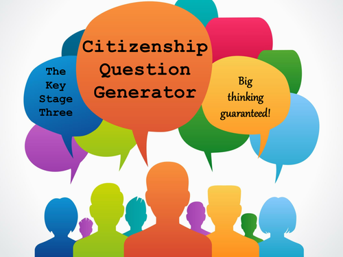 The Key Stage Three Citizenship Question Generator