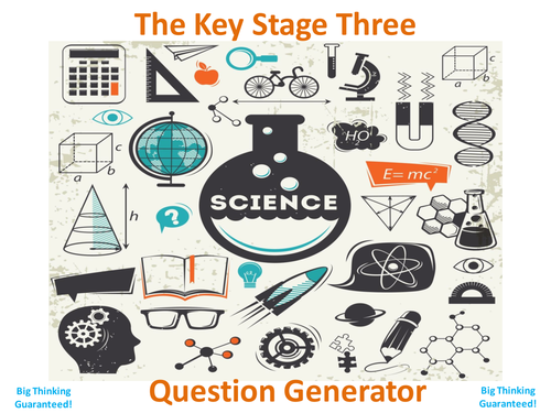 The Key Stage Three Science Question Generator