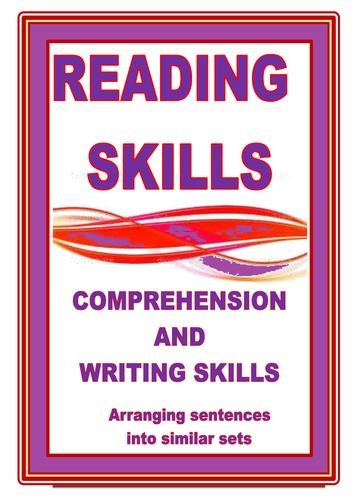 READING SKILLS:     ARRANGING SENTENCES INTO SETS