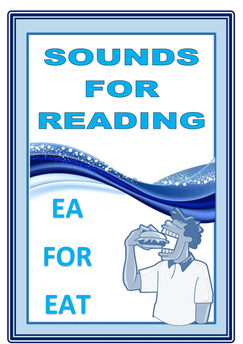 SOUNDS FOR READING  EA  FOR  EAT