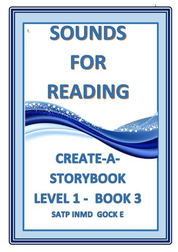 CREATE A STORYBOOK :  LEVEL 1  BOOK 3  SATP INMD  GOCK  E:  Ken and Pam