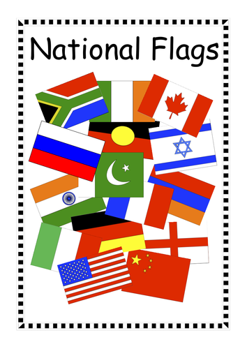 National Flags Activity Pack for Maths & Geography