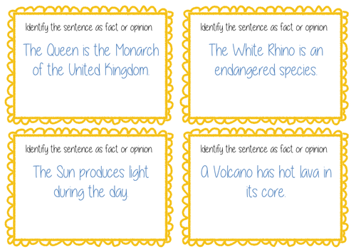 Fact And Opinion Task Cards Guided Reading Bundle By