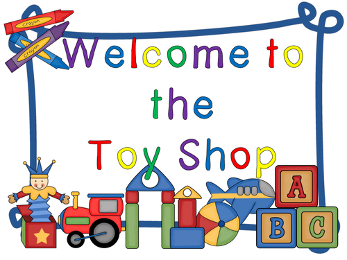 The Toy Shop  - a money activity pack
