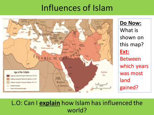 What was Islam's influence to society?