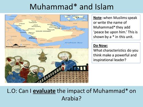 How did Muhammad influence Islam?
