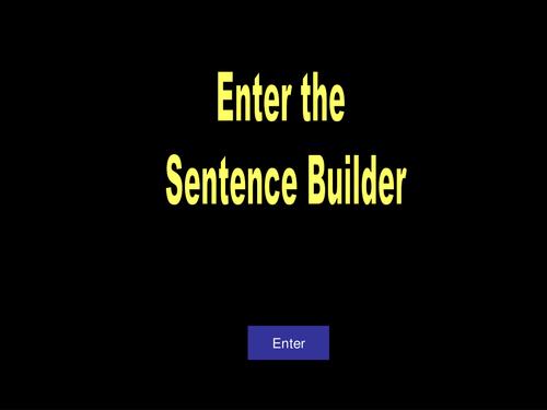 Sentence Builder