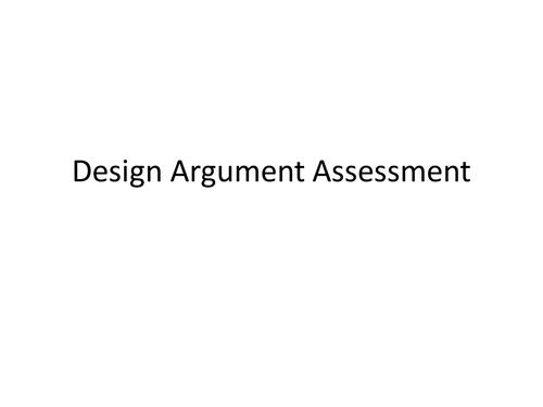 Design/ teleological  Argument Worksheets