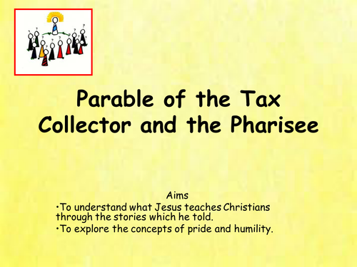 Parable of the pharisee and tax collector - 1 2