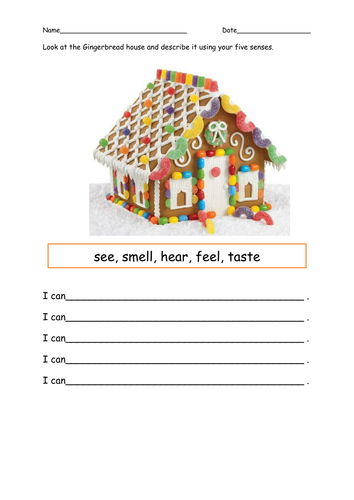 Hansel and Gretel come to a gingerbread house    by alda