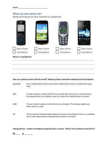 EdExcel GCSE ICT Worksheets
